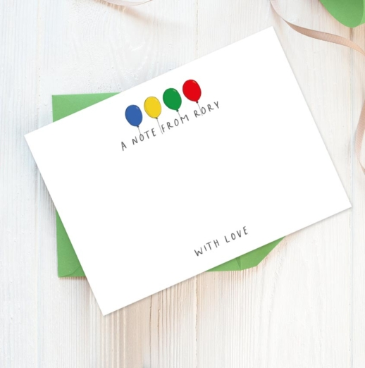 personalised stationery for boys