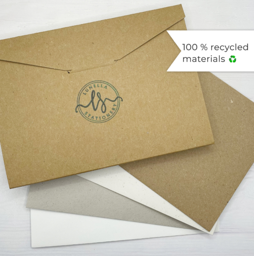 eco friendly recycled writing set