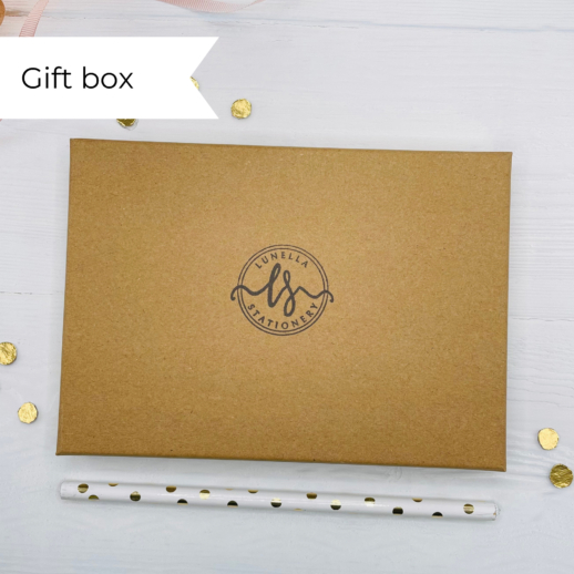eco friendly recycled stationery gift box