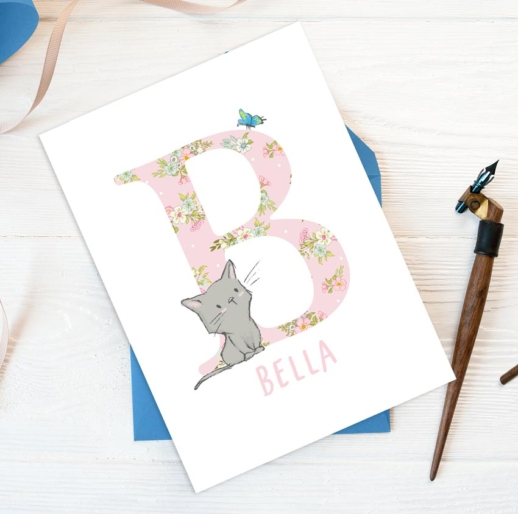 childrens personalised birthday cards