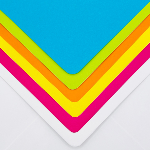 multi coloured envelopes for personalised stationery