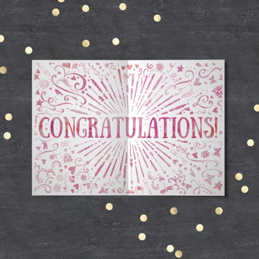 congratulations - engaged cards