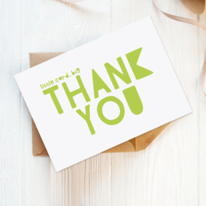 wholesale eco-friendly thank you cards