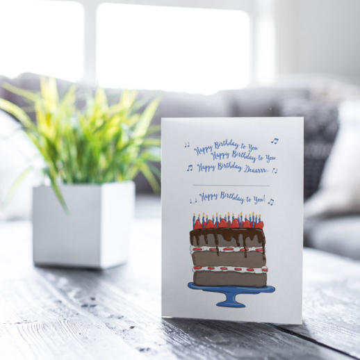 wholesale happy birthday song cards